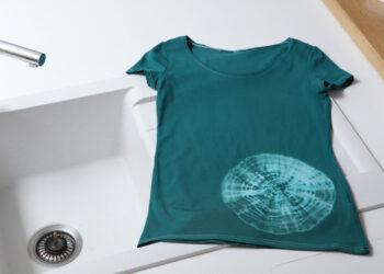 Min t-shirt med tie & dye
