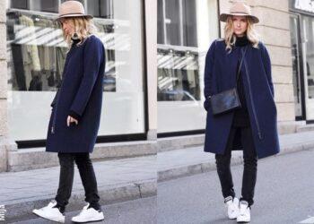 nytt mode: att blanda svart och marinblått